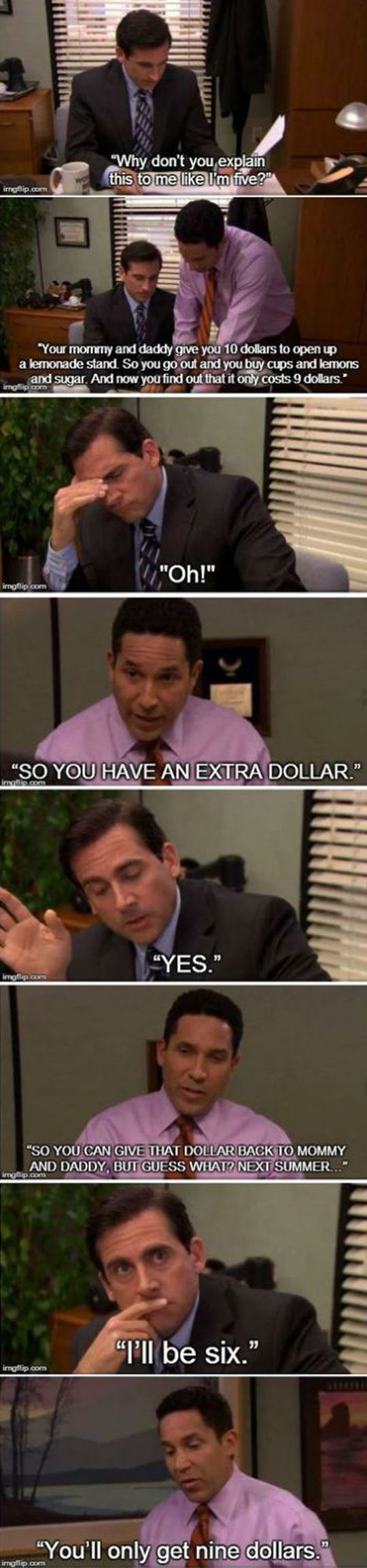 Explain This To Me Like I'm Five | Office humor, Office ...