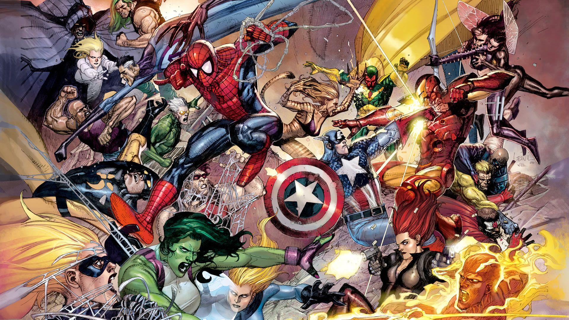 Wallpapers Comic Book Wallpaper Civil War Marvel Marvel Wallpaper