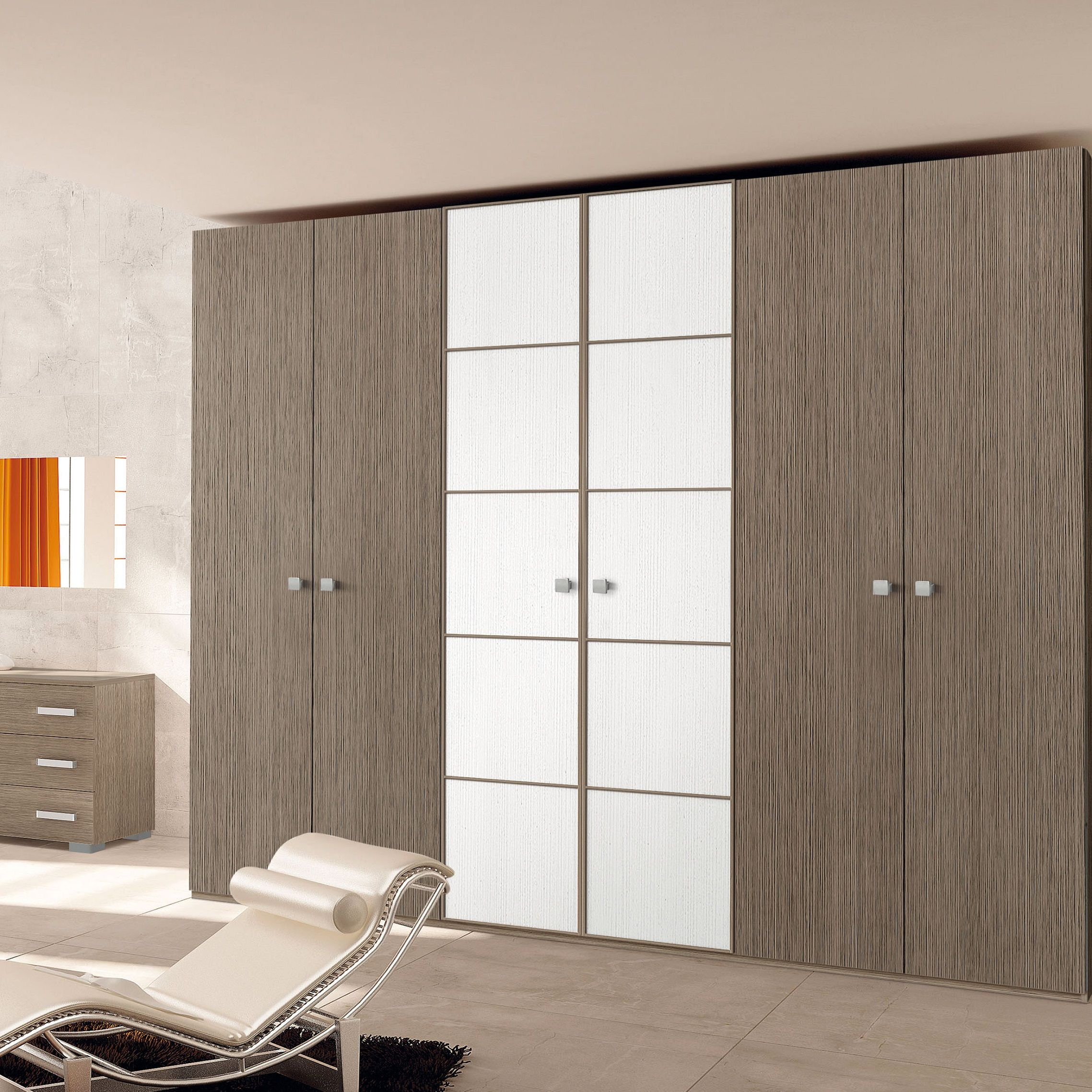 Classichome Interior Design: Armadio Bicolore Master (con Immagini)