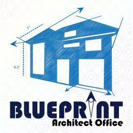 Blueprint logo house logos pinterest logos real estate logo blueprint logo malvernweather Gallery