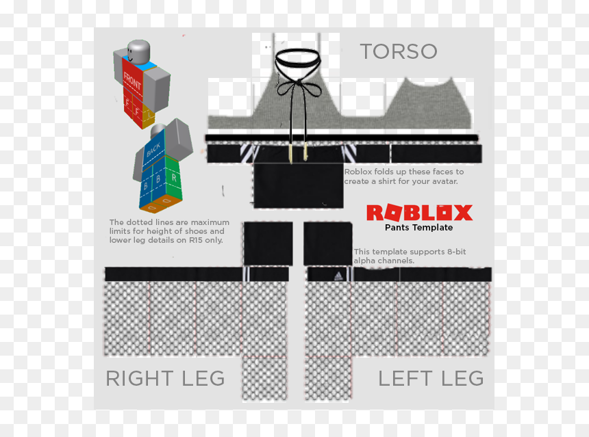 Cute Roblox Pants Template Hd Png Download Free Download On Dlf Pt Find More High Resolution Pngs Cliparts Silhouettes Icons Roblox Roblox Shirt Templates