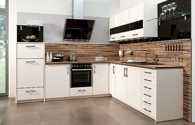 Einbauküche L-Form | Einbauküchen in 2019 | Küchen ideen ...