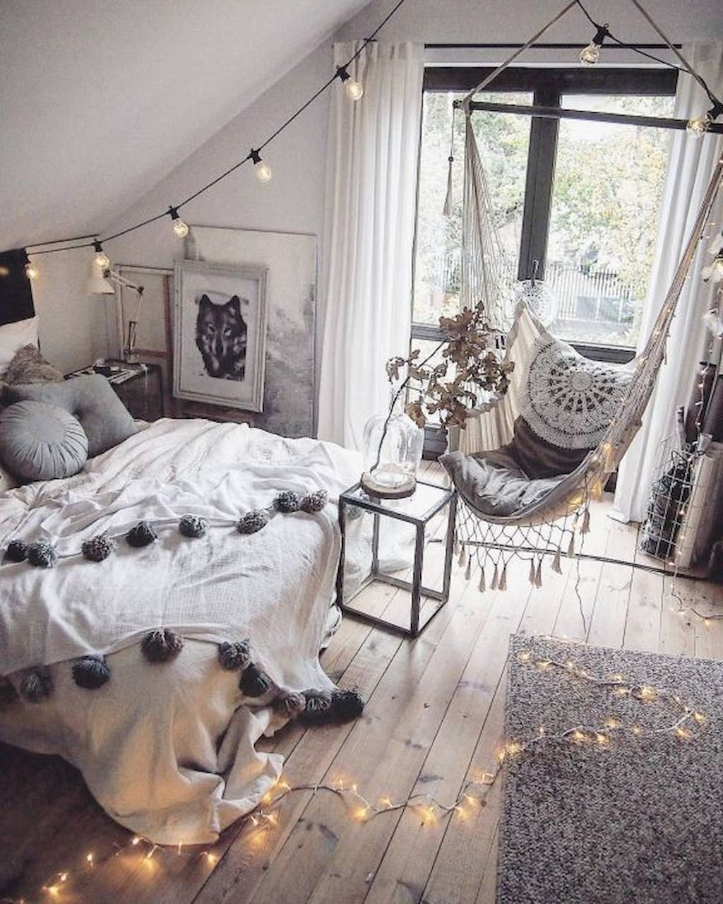 60+ Gallery of Bedrooms Cheap Makeover You Really Need is part of Hipster bedroom Curtains - The bedroom is not only a place to sleep for some people  They have more connection to this room as it could be the most personal area that they can become themselves completely  For some people who…