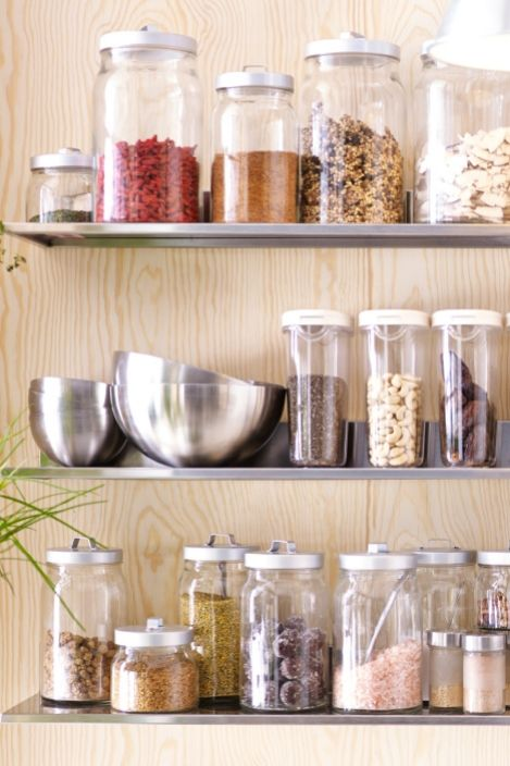 Food Storage Organizing Food Containers Jars Tins Ikea Ikea Food Storage Food Storage Organization Food Storage