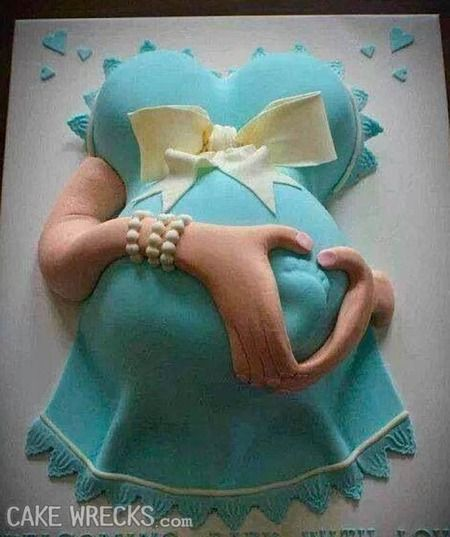 Baby Shower Belly Cakes Baby on pinterest