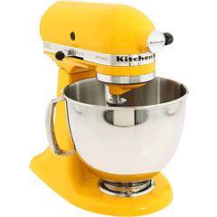 Superior KitchenAid 5 Quart Artisan Stand Mixer Yellow Pepper (Zappou0027s, $299.99)