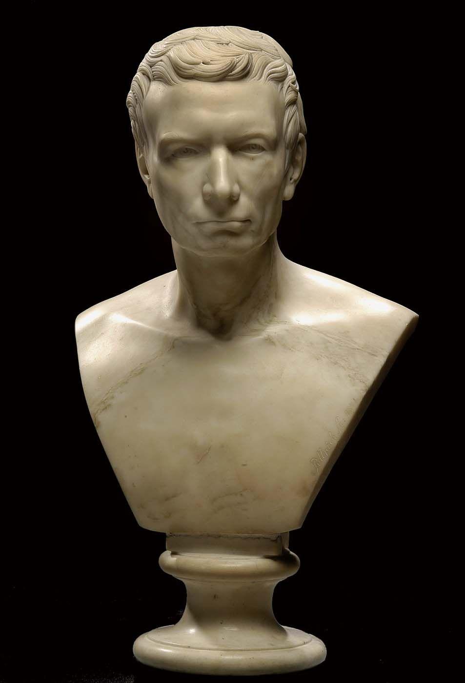Joel Robert Poinsett Ancestor Robert Statue