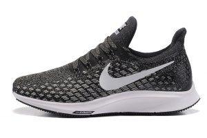 c7a0f24216ec Nike Air Zoom Pegasus 35 Black White 728857 001 Mens Womens Sneakers ...