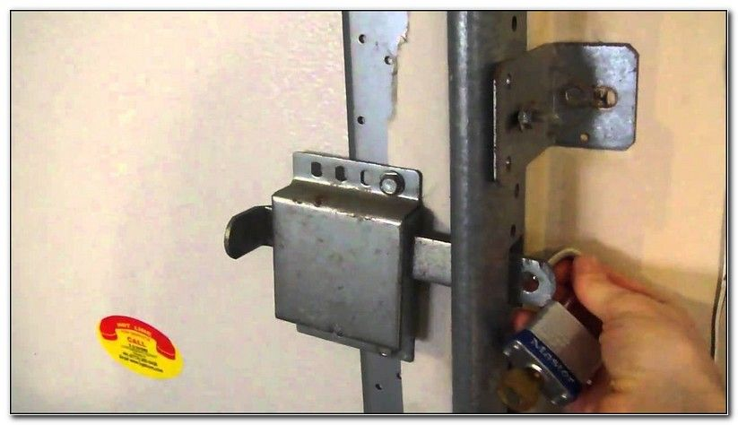 How A Manual Garage Door Lock Works Check more at http