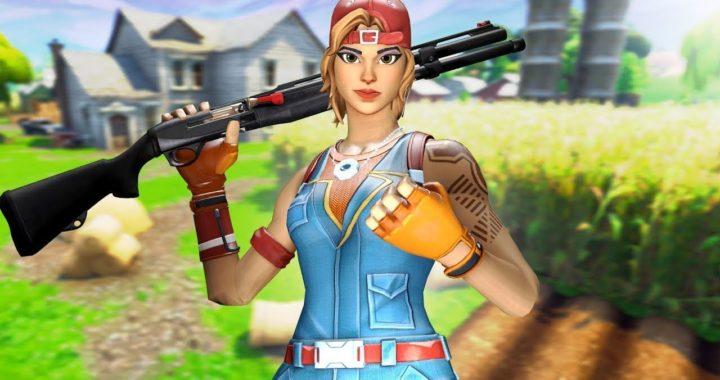 Chica Gamer Jugando Fortnite Capitulo 2 Podre Ganar Una Partida Svidy18 Fortniteros Es Chicas Gamer Fortnite Chico