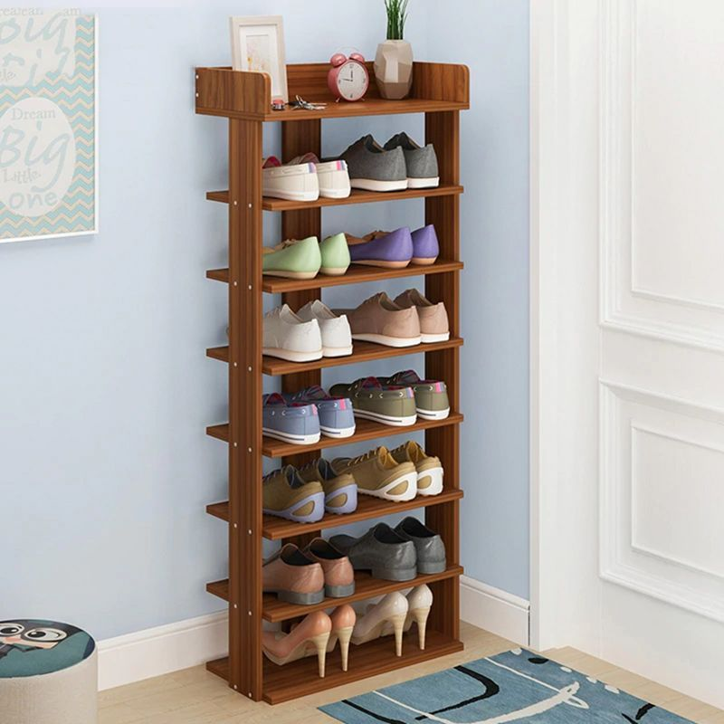 18 Gorgeous Wooden Shelf Design Ideas To Apply In Your Home Diy Shoe Storage Shoe Storage Small Space Wooden Shelf Design