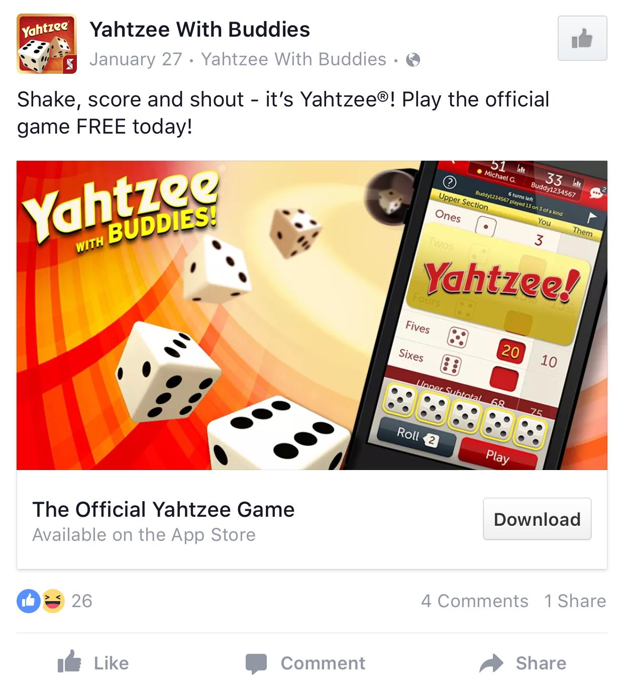 Facebook App Install Ad Examples   Facebook ads examples, Facebook ...
