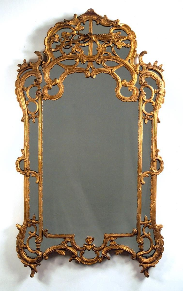 Carvers Guild Chateau Chantilly Mirror In Antique Gold Leaf Finish Antique Gold Mirror Mirror Gold Mirror