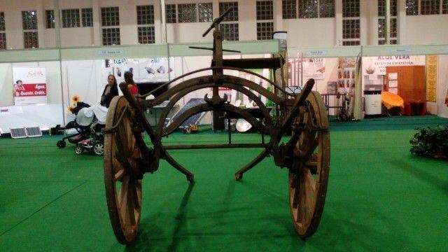 Outra raridade uma carroça antiga