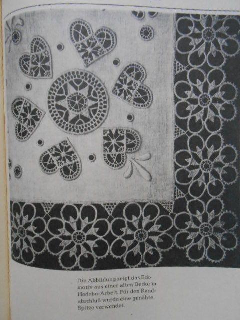 ドイツホワイトワーク・図案・カットワーク刺繍・シュヴァルム刺繍 ...