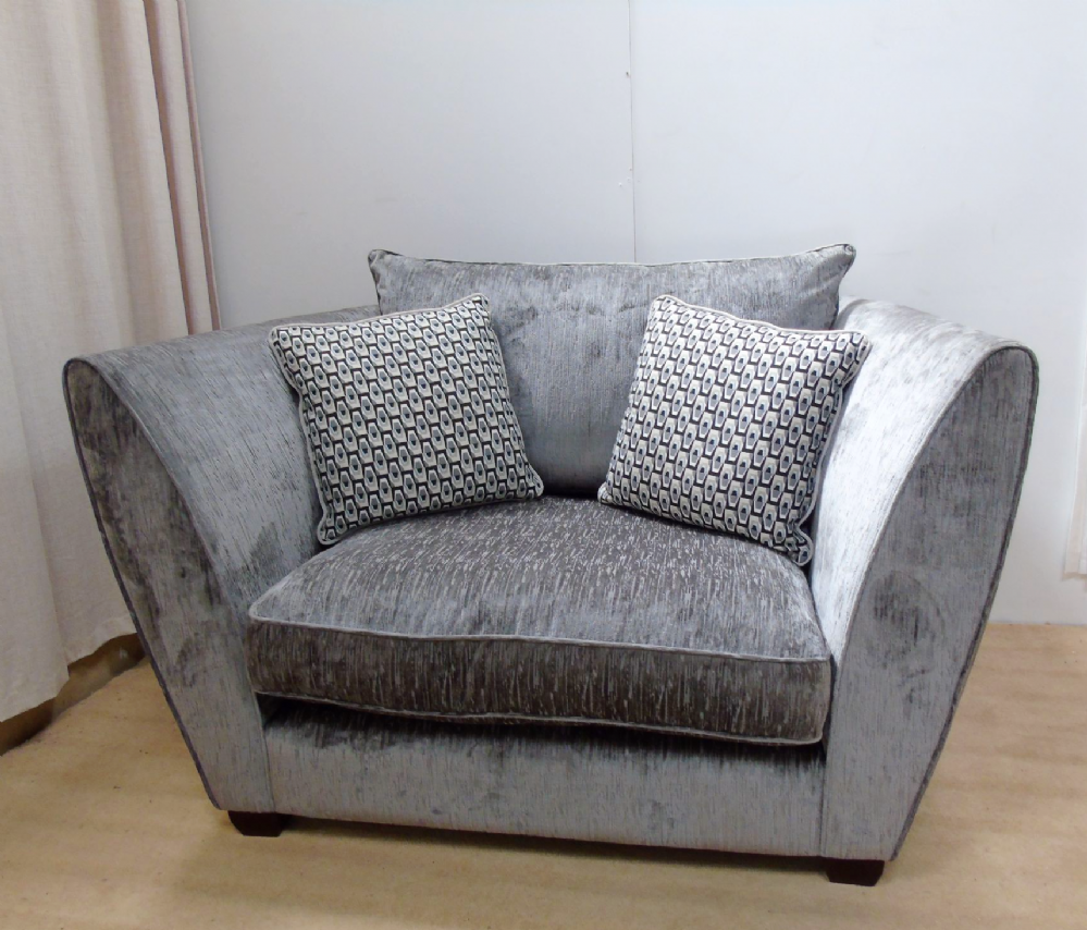 Allure snuggler sofa by Whitemeadows this is a cancelled