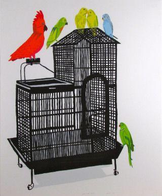 Bird Cage XVIII - Jonas Wood