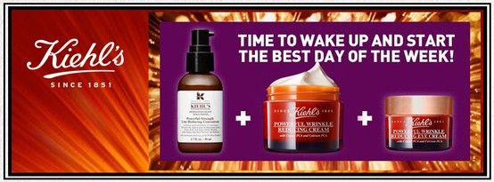 Are you ready to start your day with the goodness of Kiehl's?