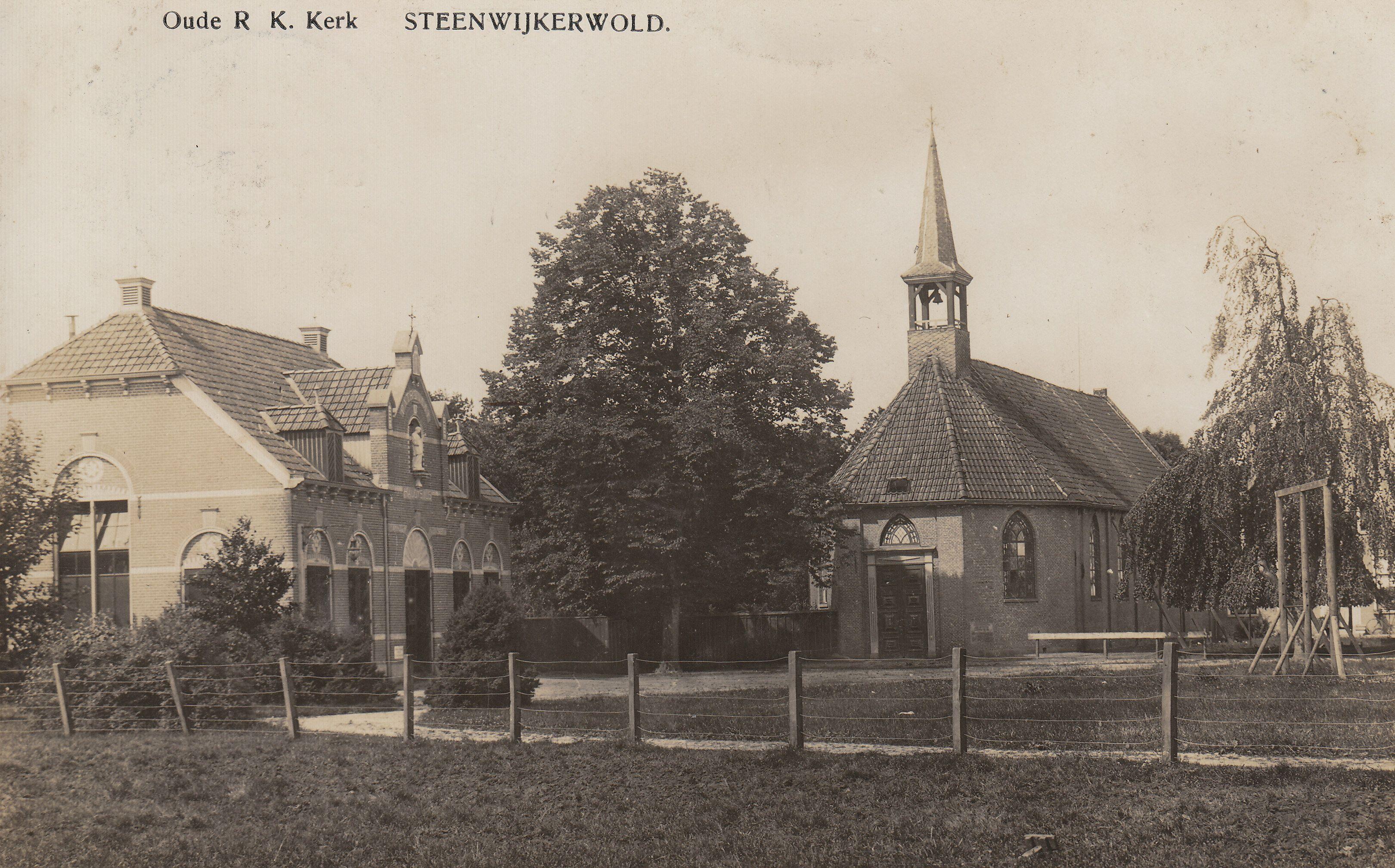 Steenwijkerwold - Oude R.K. Kerk