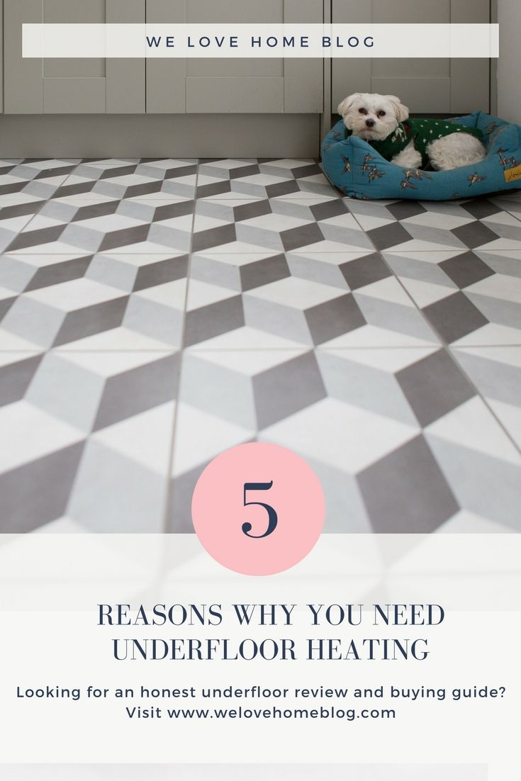 Review Of Warmup Underfloor Heating In My Kitchen Underfloor - Cost of installing underfloor heating