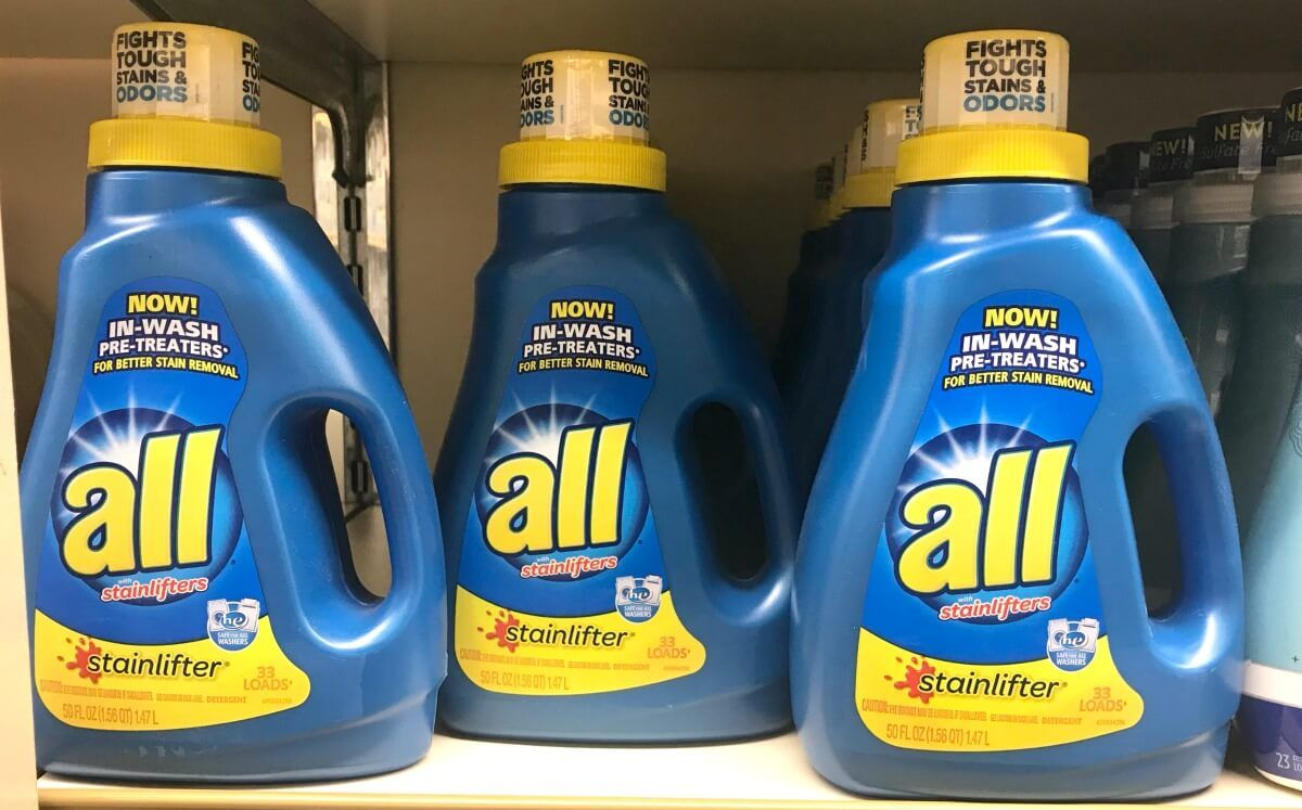 New 3 2 All Laundry Products Coupon 0 49 At Walgreens 4 22