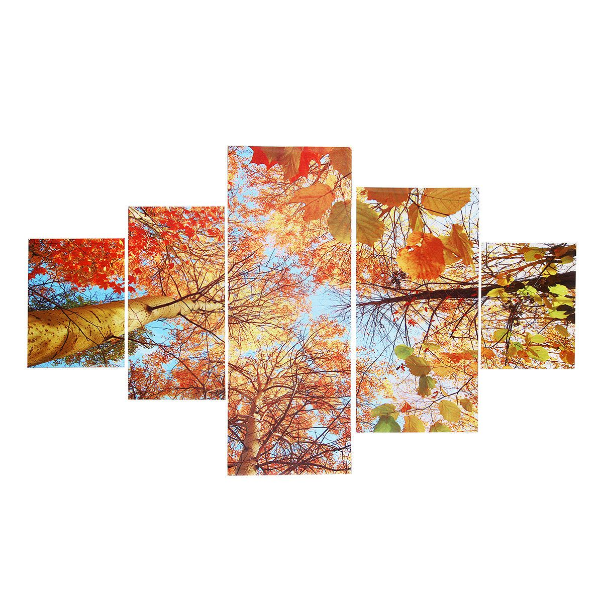 5 Panel Modern Art Oil Painting Print Canvas Picture Home Wall Room ...