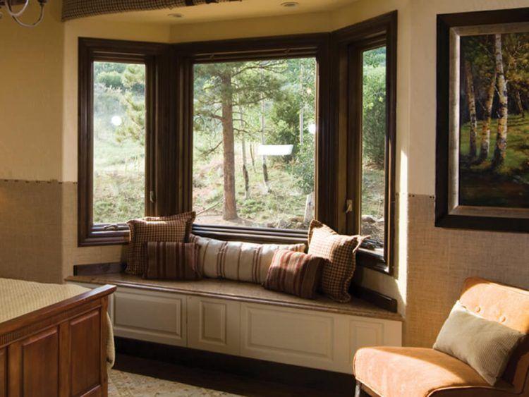 17 Stunning Bay Windows Ideas For Your Sweety Home Modelos De Ventanas Ventanas De Aluminio Ventanas De Madera