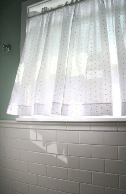 22 Nuevas ideas Cuarto de baño Cortina de ventana Cortinas ...