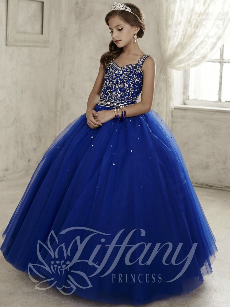 Tiffany Princess Little Girls Dress 13443 Vestidos Para