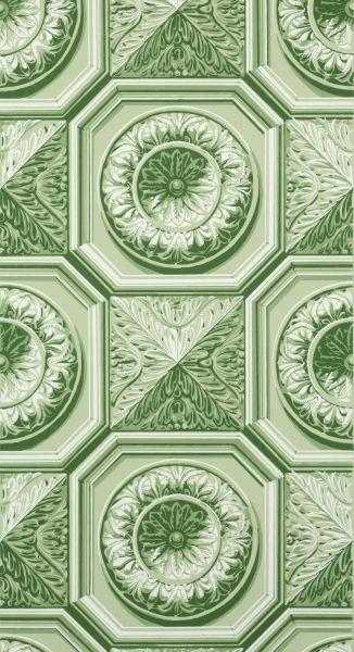 Papier Peint Plafond Trompe L Oeil trompe l'oeil papier peint plafond à caisson | adelphi wall paper