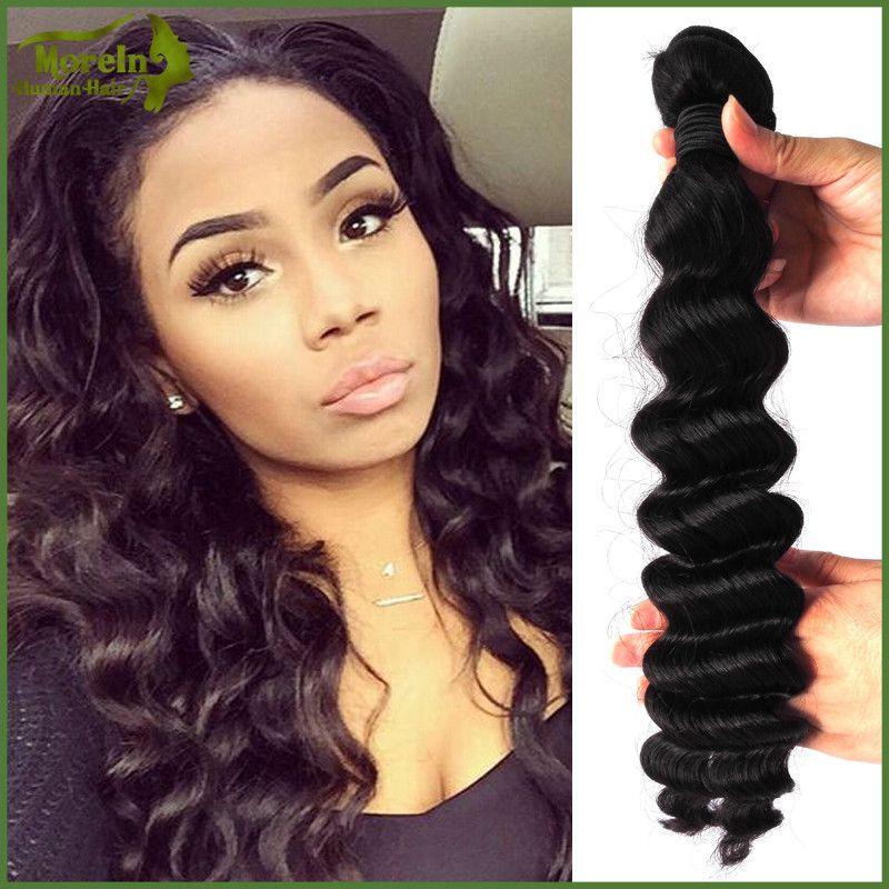 Factory Whole Overnight Shipping In China Raw Brazilian Hair Loose Deep Ocean Wave Weave Virgin Peruvian