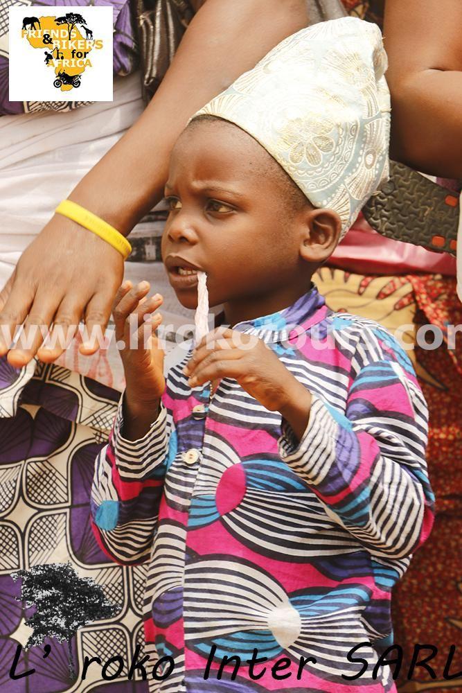 Child at Voodoo Festival in Ouidah Benin