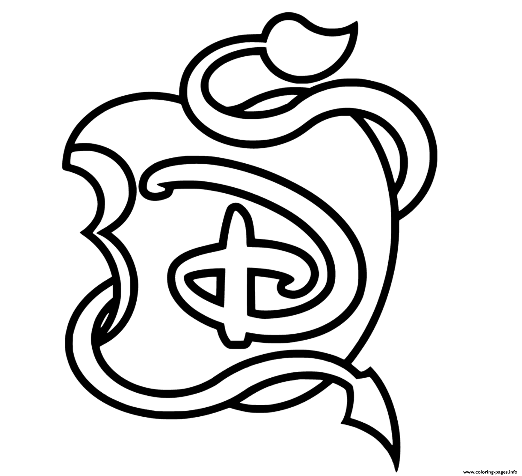 Print The Descendants 3 From Disney Coloring Pages Descendants Coloring Pages Disney Coloring Pages Printables Disney Coloring Pages