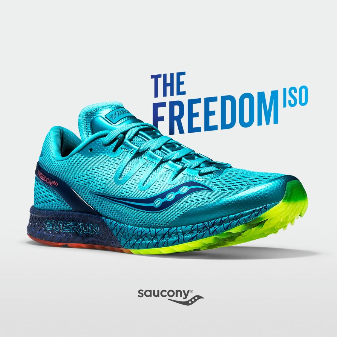 Acquista saucony freedom iso rosso  19792a70ab6