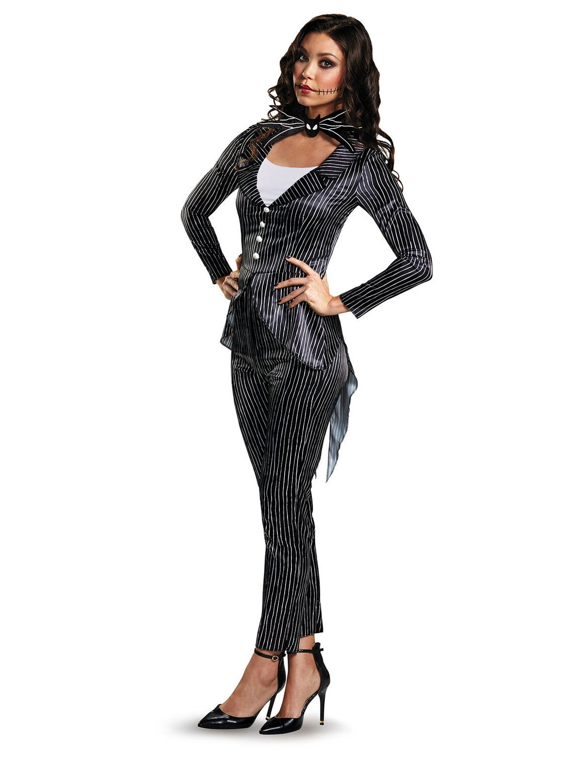 Adult Jack Skellington Female Deluxe Costume Jack