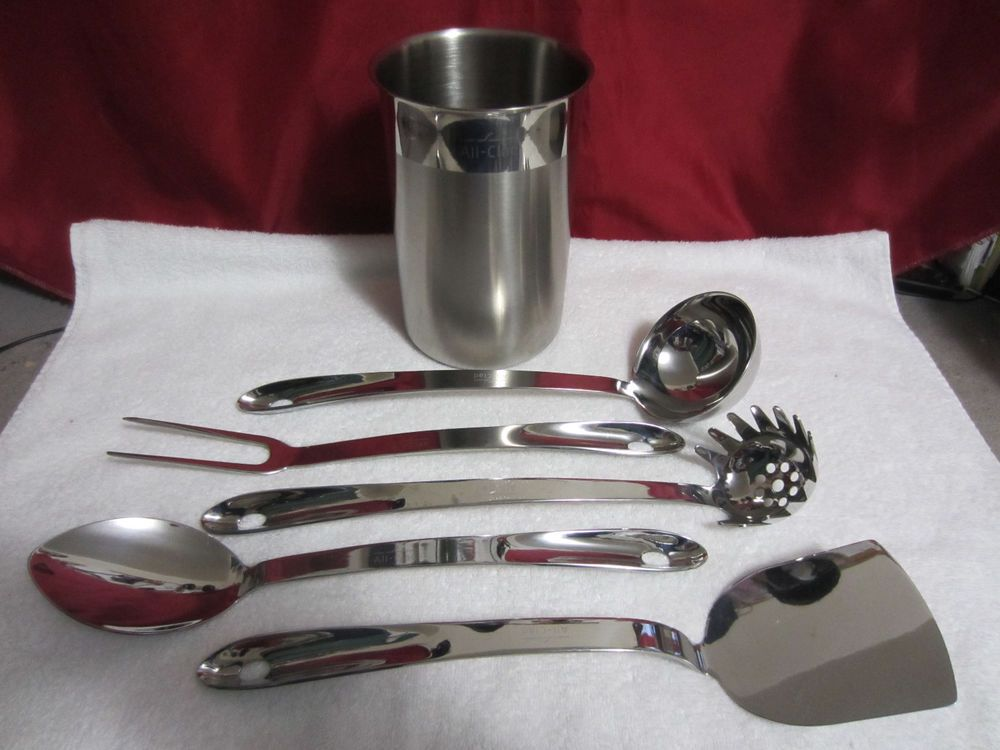 Vintage All-Clad Kitchen Utensils Set of 6 Pcs. Polished ...