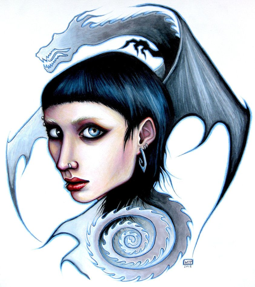 The Girl with the Dragon Tattoo by HollyTheTerrible