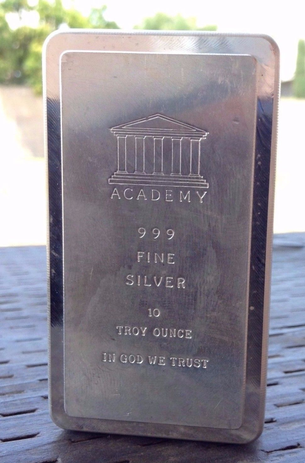 Mint Condition Academy 10 Oz 999 Silver Bar Stacker By Scottsdale Mint Shopnetone Silver Bars 10 Things Mint