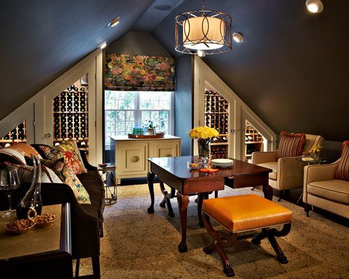 Traci 20zeller 20designs 20wine 20room Jpg Bonus Room Design Attic Design Attic Remodel