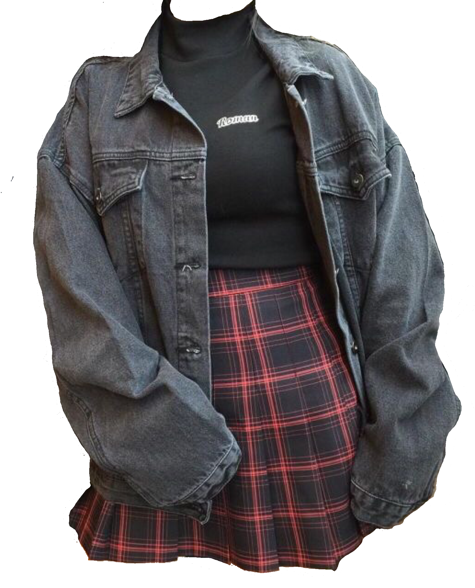 Polyvore Grunge Black Moodboard Filler Outfit Clothing Aesthetic Clothes Outfits With Leggings Soft Grunge Outfits
