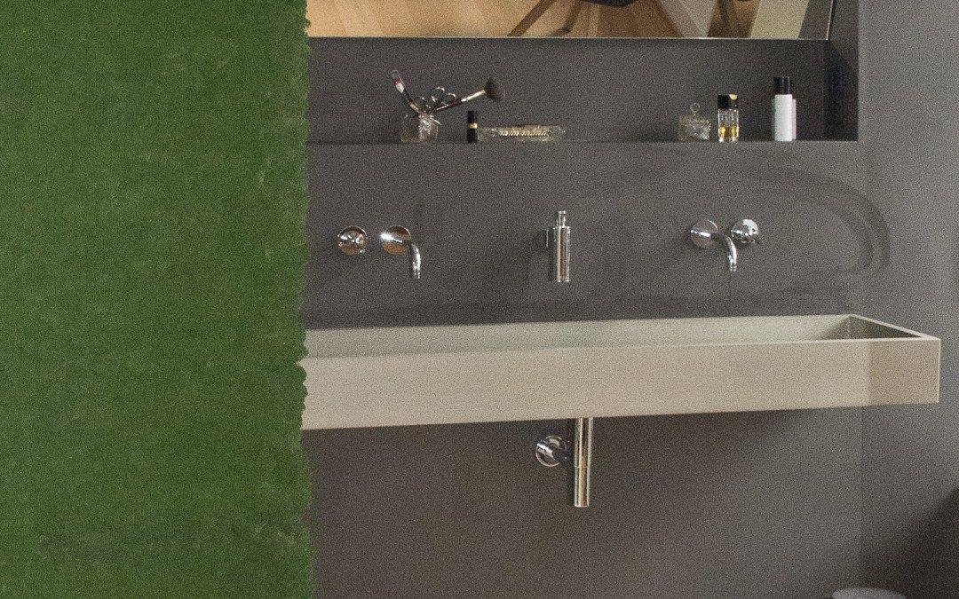 Ein Cooles Bad In Wasserfestem Putz Fugenloses Bad Betonoptik Bad
