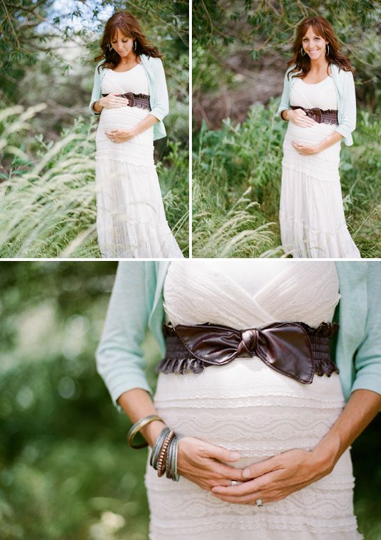 @Marina Zlochin Kastelic Hamilton Smith I really love this! I love when there is cute jewelry and belts during maternity sessions!