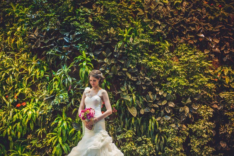 Kyla + Albert { Devonian Gardens Wedding Calgary Anna