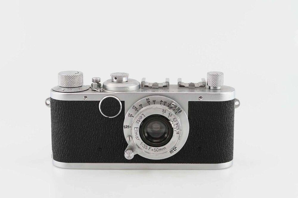 Leitz Leica Ic I C Shark Skin Mit Elmar 35 50 Mm 83656