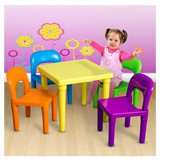 Details about OxGord Kids Table u0026 Chairs Play Set For Toddler Child Toy Activity Furniture New  sc 1 st  Pinterest & Details about OxGord Kids Table u0026 Chairs Play Set For Toddler Child ...