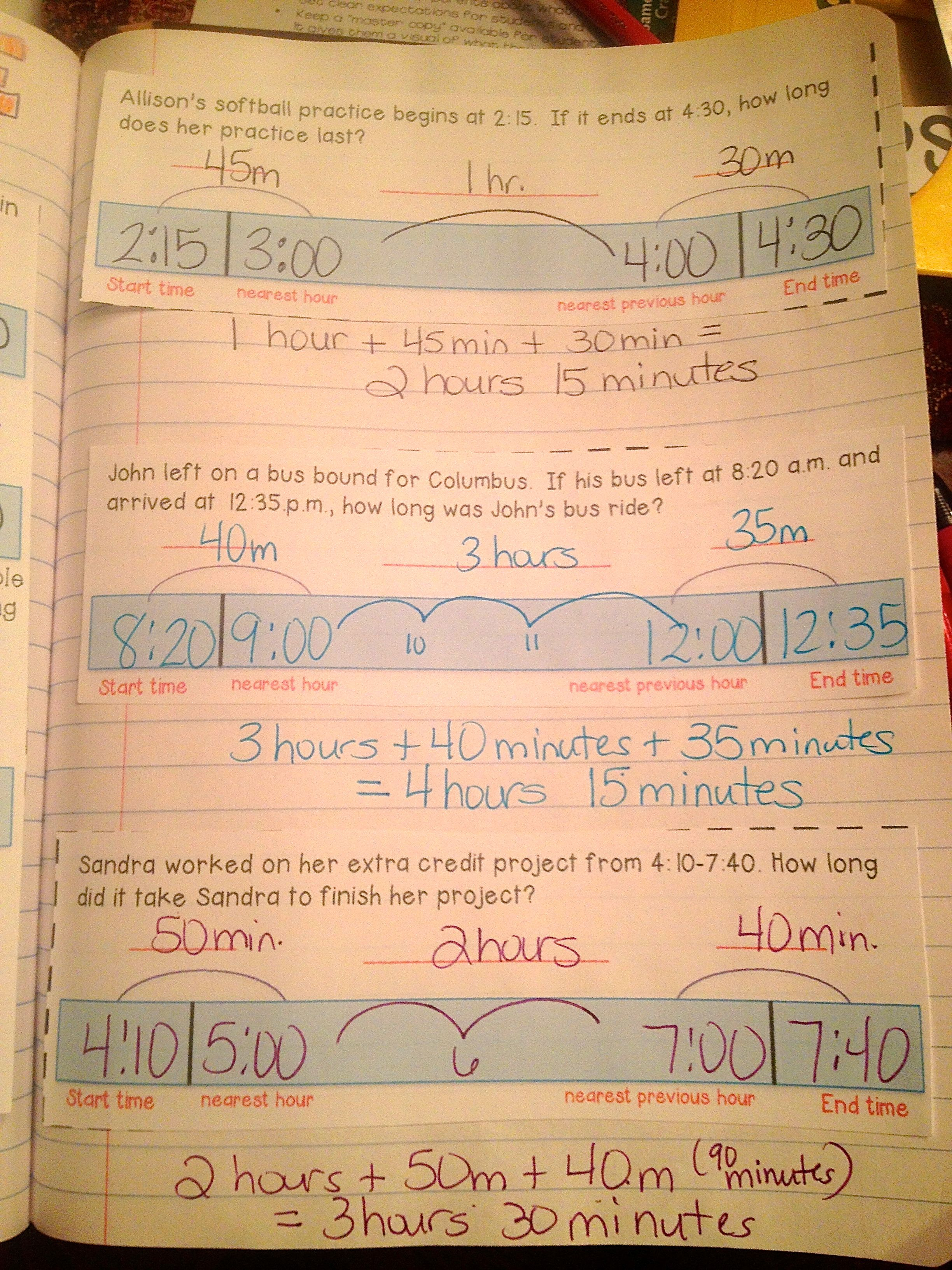 Math Interactive Notebook Measurement