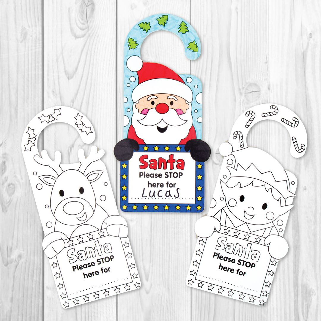 Christmas Personalised Door Hangers