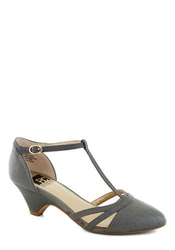 270cca5093 This is cute! In pretty much any color. Wedding Heels, Grey Wedding Shoes
