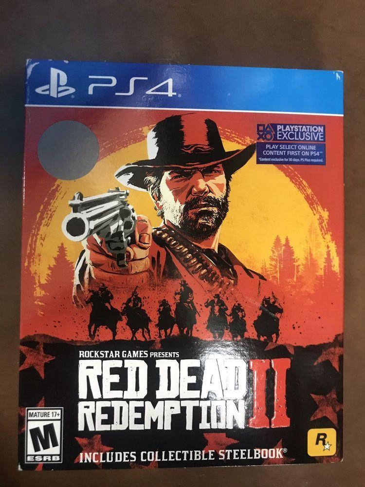 Red Dead Redemption 2 - Steelbook Case Edition (Playstation