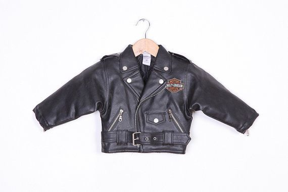 Baby harley leather jacket (my hubby has one from when he was a baby